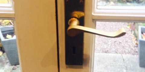 Back Yard Door Handle