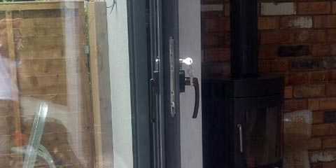 New Door Lock Frame